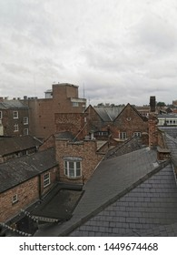 Old rooftops in the north of england
