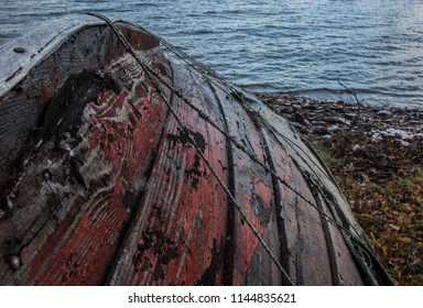 Old roting boat
