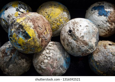 Old Round Fishing Floats