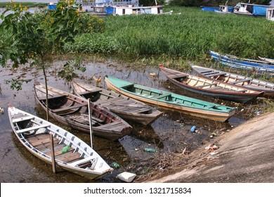 Old Rowboats in Santarem