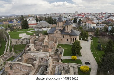 Old Royal Court ruins and the Royal Church of Targoviste, former Wallachian capital. The Royal Court dates back in 15th century and it was inhabited by several rulers, among them was Vlad the Impaler.
