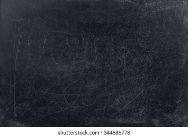 Old and rubbed black board texture.
