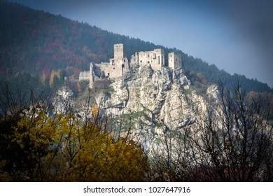 Old ruin Strecno, Slovakia