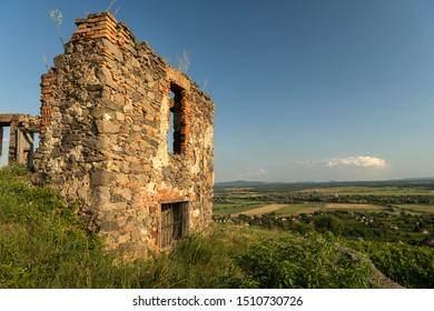 Old ruined house on top of the hill, Somlo, Hungary