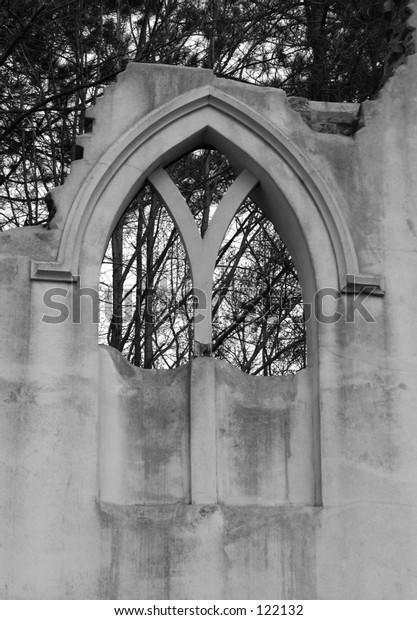 Old ruined monastery