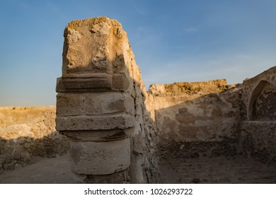 Old ruins of the Bahrain Fort.