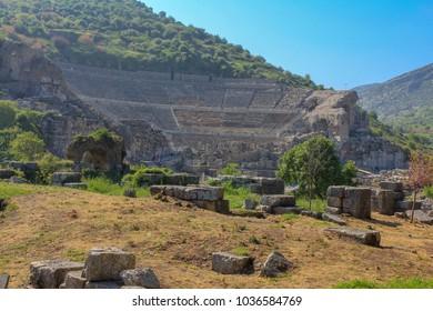 old ruins in Selcuk,Turkey
