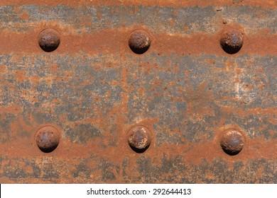 old rusted steel - rusty metal texture / rust texture