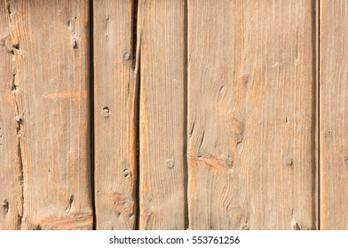 Old rustic brown painted wood boards background.