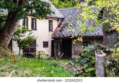 Old rustic cottage