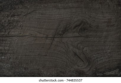 Old Rustic Discolored Wooden Board Dark Gray Texture Wallpaper And Background Brown