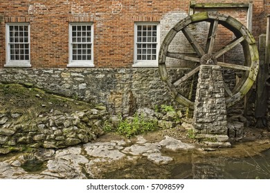 Old Rustic Grist Mill