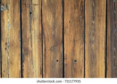 Old rustic natural vintage wood background texture