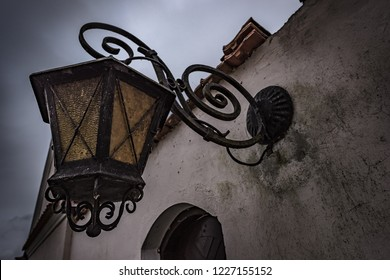 Old Rustic Vintage outdoor street light Metal Lantern