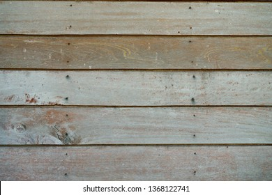 Old & rustic wood planks texture background