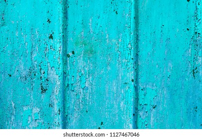 Old rusty corrugated iron metal texture background.