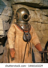Old and rusty Scuba Suit