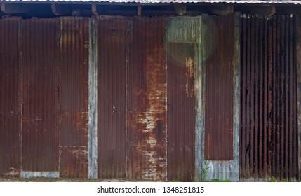 An Old Rusty Wall