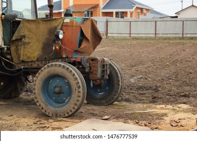 Old Rusty Tractor Images, Stock Photos & Vectors | Shutterstock
