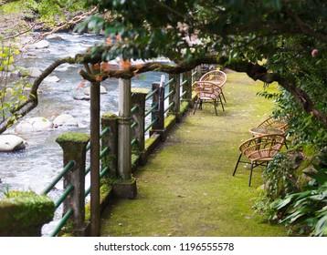old Ryokan in japan