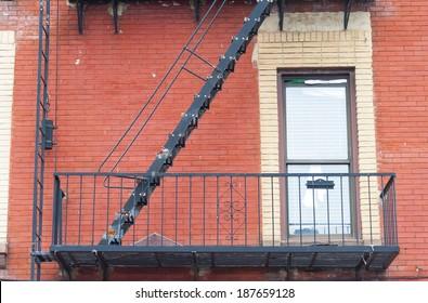 old safety ladder