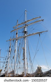 Old sail ship restored to navigation