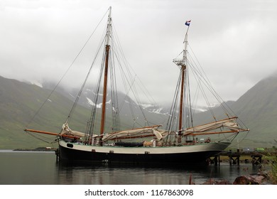old sailing ship Iceland