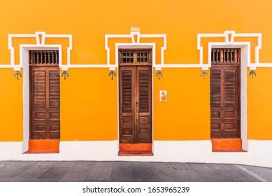 Old San Juan doors. Puerto Rico.