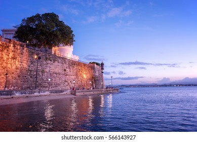 Old San Juan, old fort,  Puerto Rico