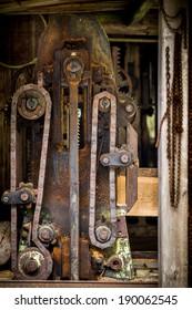 old sawmill, mechanics