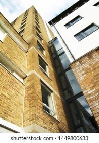 Old school brick walled architecture in Northwest England