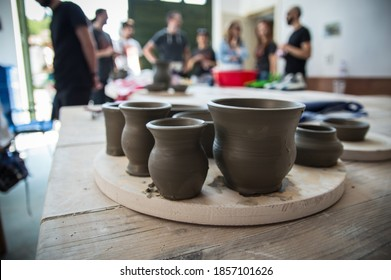 Old school pottery workshop results
