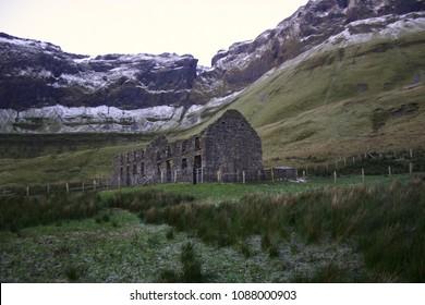 Old Schoolhouse at Gleniff, Sligo, Ireland