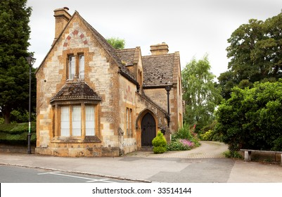 An old scool house in the Cotswolds,England
