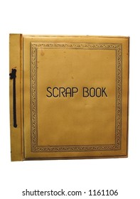 old scrapbook cover