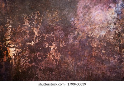 Old scraped metallic sheet grungy background or texture