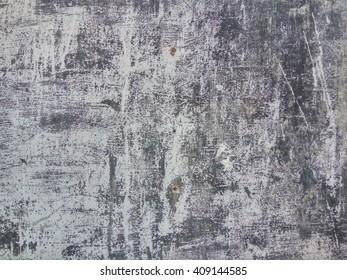 Old Scratched Metal Door - Grunge Texture Backgound