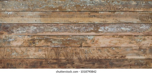 old scratched weathered rough wood background, rustic table