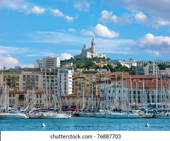 The old sea-port of Marseille