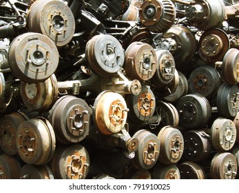 The old second hand parts for reuse
