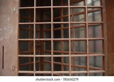 Old secure gate in Spain.