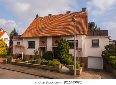 Old semi-detached house