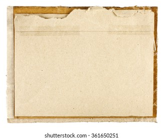 Old sepia toned historic blank paper background