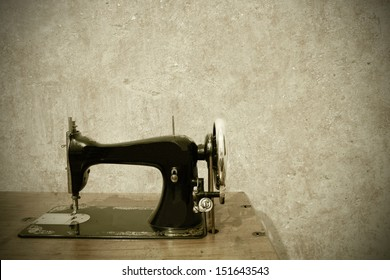 old sewing machine