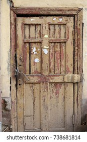 Old shabby door