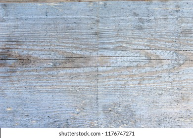 old shabby wooden board. Blue color