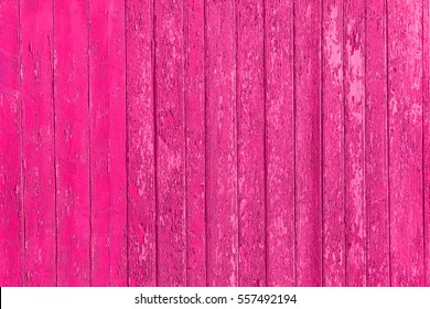 Old shabby wooden planks with cracked color paint, background old panels. Color-Peel wood texture. Fracture wall. Ruined floor. The texture of the destroyed wooden wall. Decrepit fence.