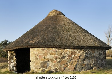 An old Sheep House built in a Coastal area to shelter the Sheep.