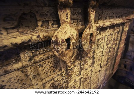 Old ship trunk