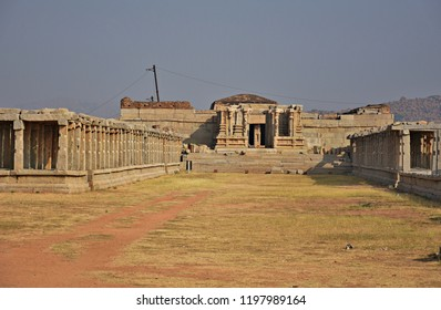 """""""Old Shiva temple on the right side of the eastern tower of Vitthala temple, Hampi, Karnataka"""""""